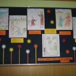 Ozdravljenja-učenički radovi na panou, Marija Lovrić